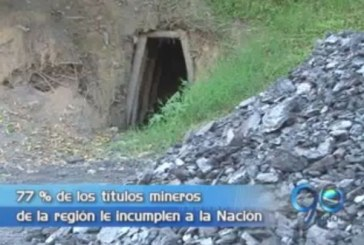 77 por ciento de los títulos mineros presentan irregularidades