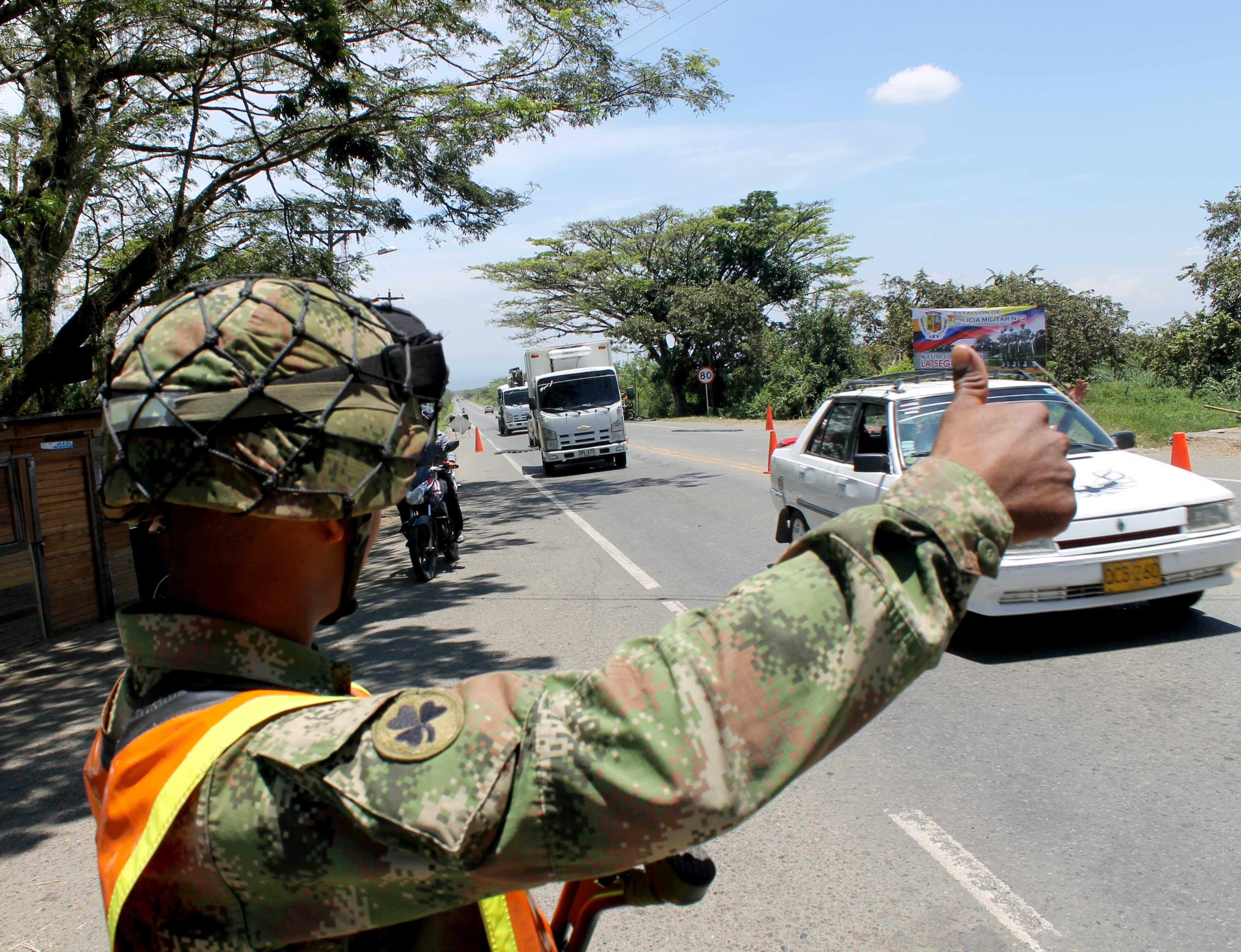 Tres mil hombres en las vías del Valle y Cauca