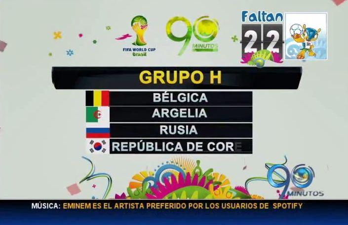 Faltan 22 días para el Mundial de Fútbol Brasil 2014