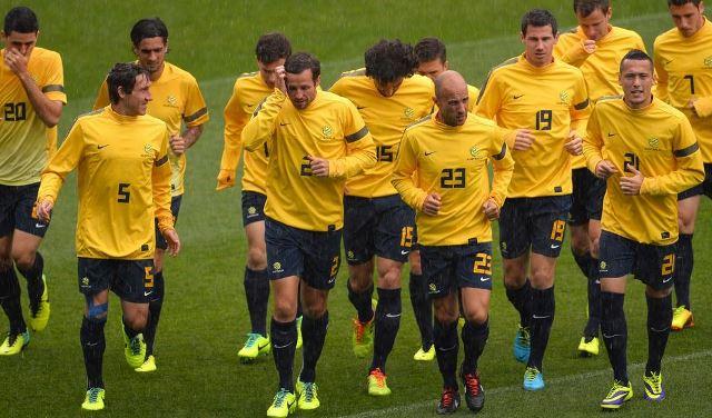 Australia es la primera selección extranjera en entrenar en Brasil