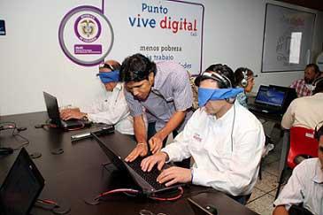 Curso de tecnología para personas con deficiencia visual