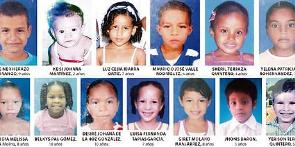 Continúa identificación de niños fallecidos en Magdalena