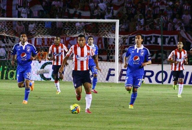 Millonarios se lleva un punto de Barranquilla y deja la semifinal abierta