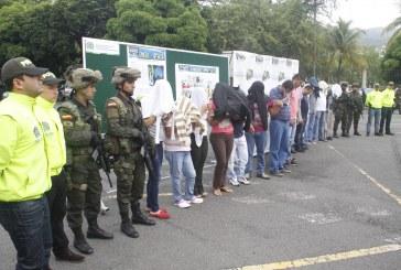 Capturadas 17 personas por tráfico de sustancias químicas
