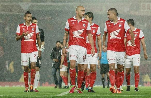 Santa Fe pegó primero y derrotó a Nacional con gol de Omar Pérez