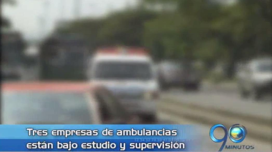 20 Clínicas sancionadas por dar comisiones a las ambulancias