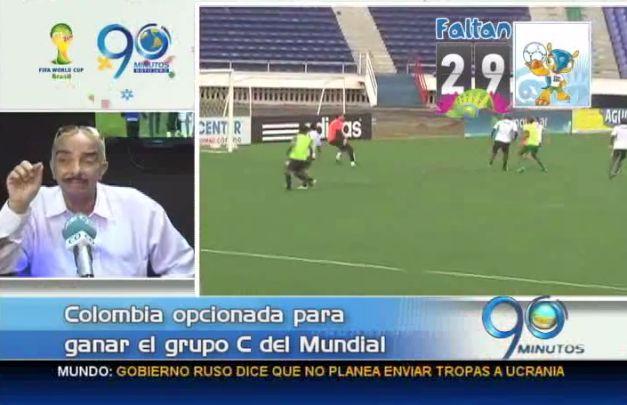 Comentarista Mario Escobar analiza grupo C del Mundial Brasil 2014