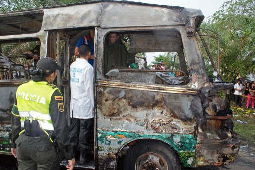 Autoridades buscan dueño del bus de la tragedia en Fundación