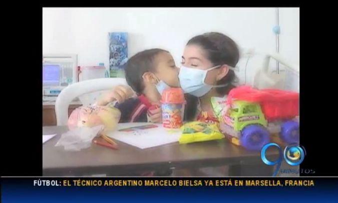 Gobernación lanza campaña para ayudar a niños con cáncer