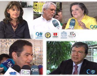 Candidatos a la presidencia y vicepresidencia hablaron en Campus Electoral