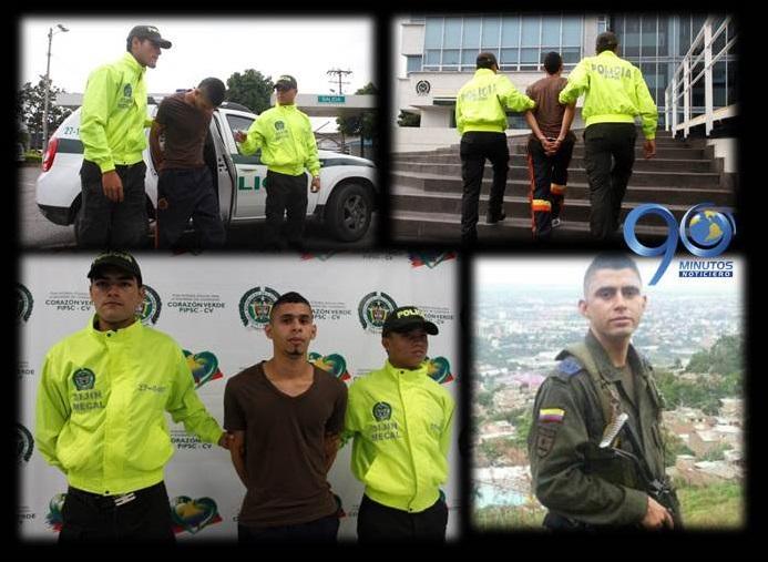 Autoridades capturan al  presunto asesino de patrullero