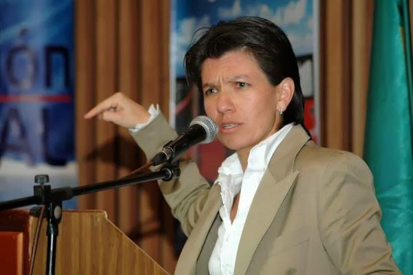 Claudia López de la Alianza Verde se adhiere a la campaña de Santos