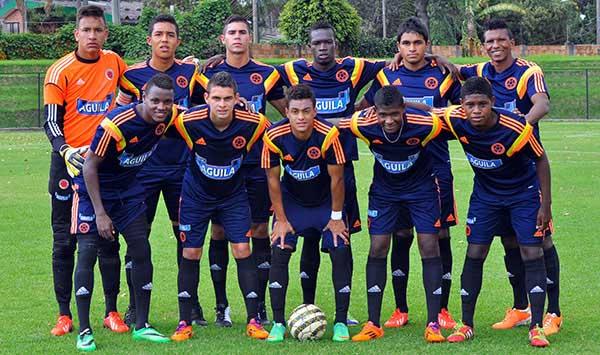 La Selección Colombia sub 20 se quedó por fuera de Esperanzas de Toulon