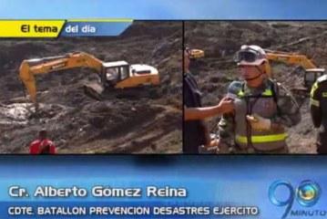 Continúan labores de búsqueda y rescate en mina 'Agualimpia'