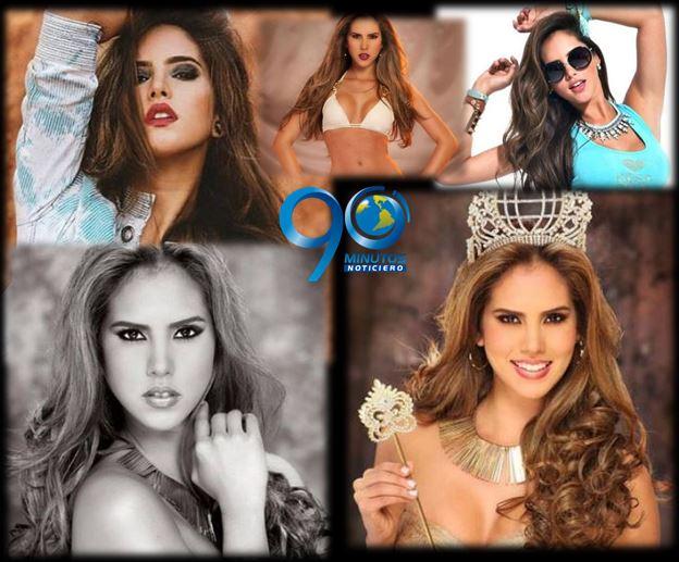 La Miss Mundial de Fútbol 2014 es colombiana
