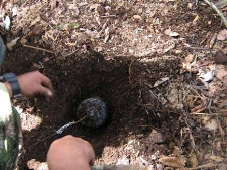 Ejército encuentra caleta con material explosivo en Cauca