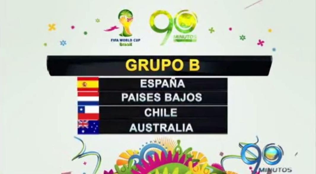 España y Chile son los favoritos del grupo B para el Mundial