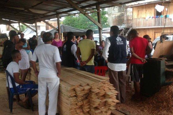 De Buenaventura se desplazan 112 integrantes de una familia