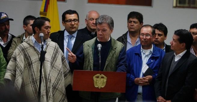 Se retomarán diálogos con los líderes del Paro Agrario en Bogotá