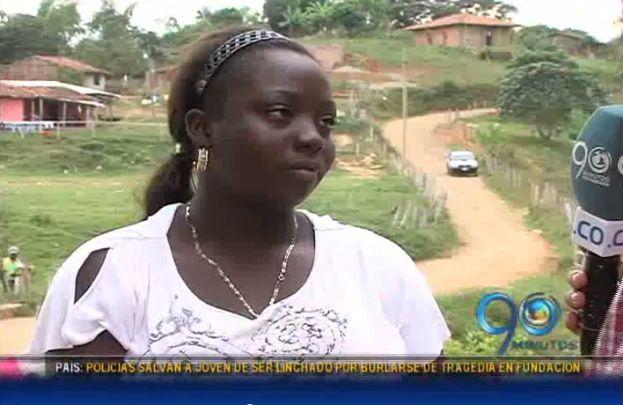 Hijos de mineros muertos en derrumbe piden ayuda