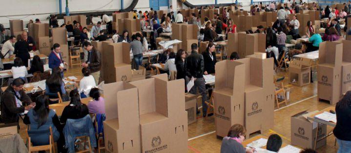 Una mirada a los cambios históricos de las elecciones en Colombia