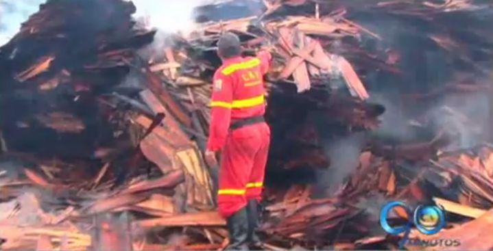 Altas temperaturas podrían haber potenciado incendio en Buenaventura