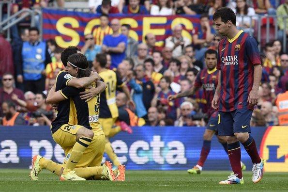 Atlético de Madrid es el nuevo rey del fútbol español