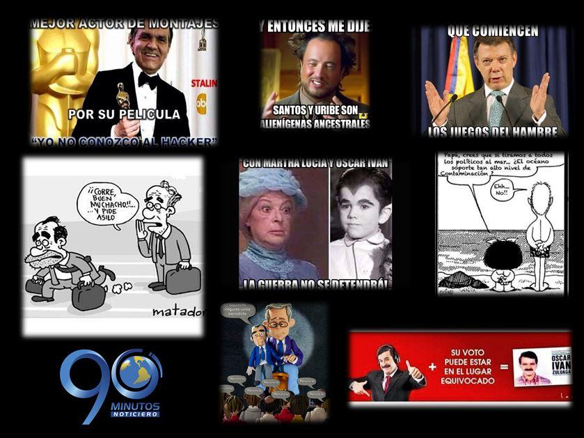 'Memes' y caricaturas de algunos candidatos se toman las redes sociales