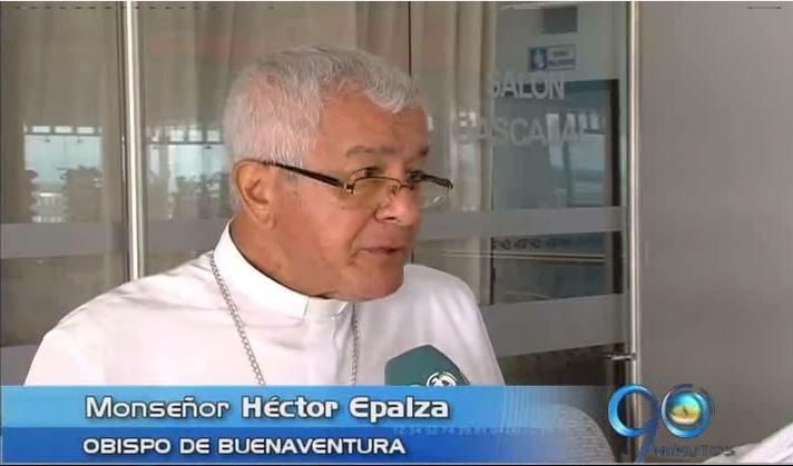 Obispo de Buenaventura, Héctor Epalza, se manifestó por la falta de agua en el puerto