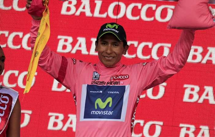 Nairo sigue haciendo historia: gana la etapa 19 y sigue de rosa