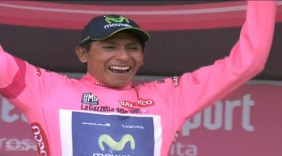 Histórico 1-2 obtenido por colombianos en el Giro de Italia