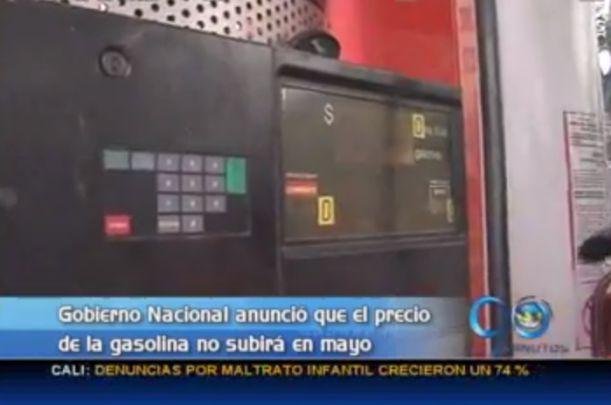 Precio de la gasolina disminuirá 17 pesos en mayo