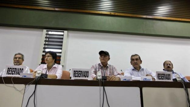 Gobierno y Farc aun no llegan a un acuerdo sobre narcotráfico