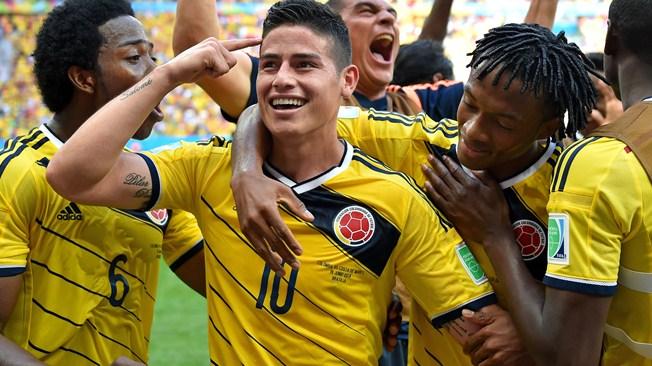 James Rodríguez fue el mejor jugador de la fase de grupos según la FIFA