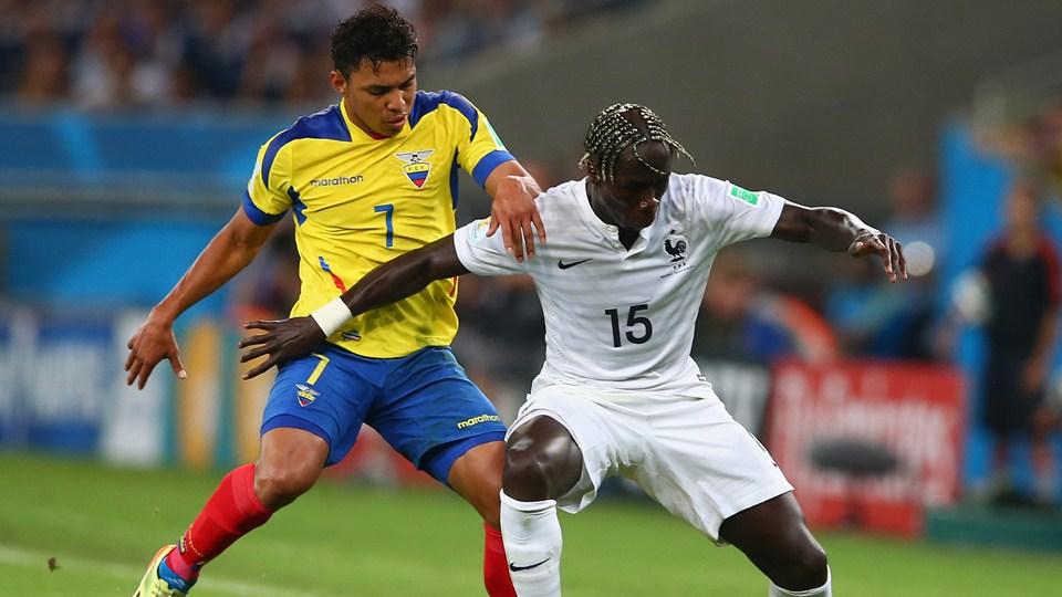 Ecuador no pudo con Francia y se quedó por fuera de Brasil