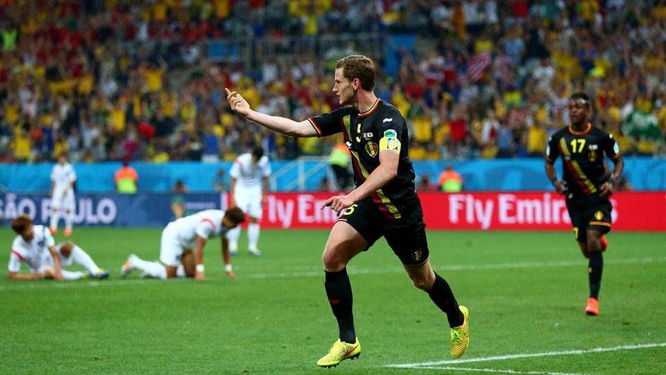 Bélgica le ganó a Corea del Sur en el cierre de la fase de grupos