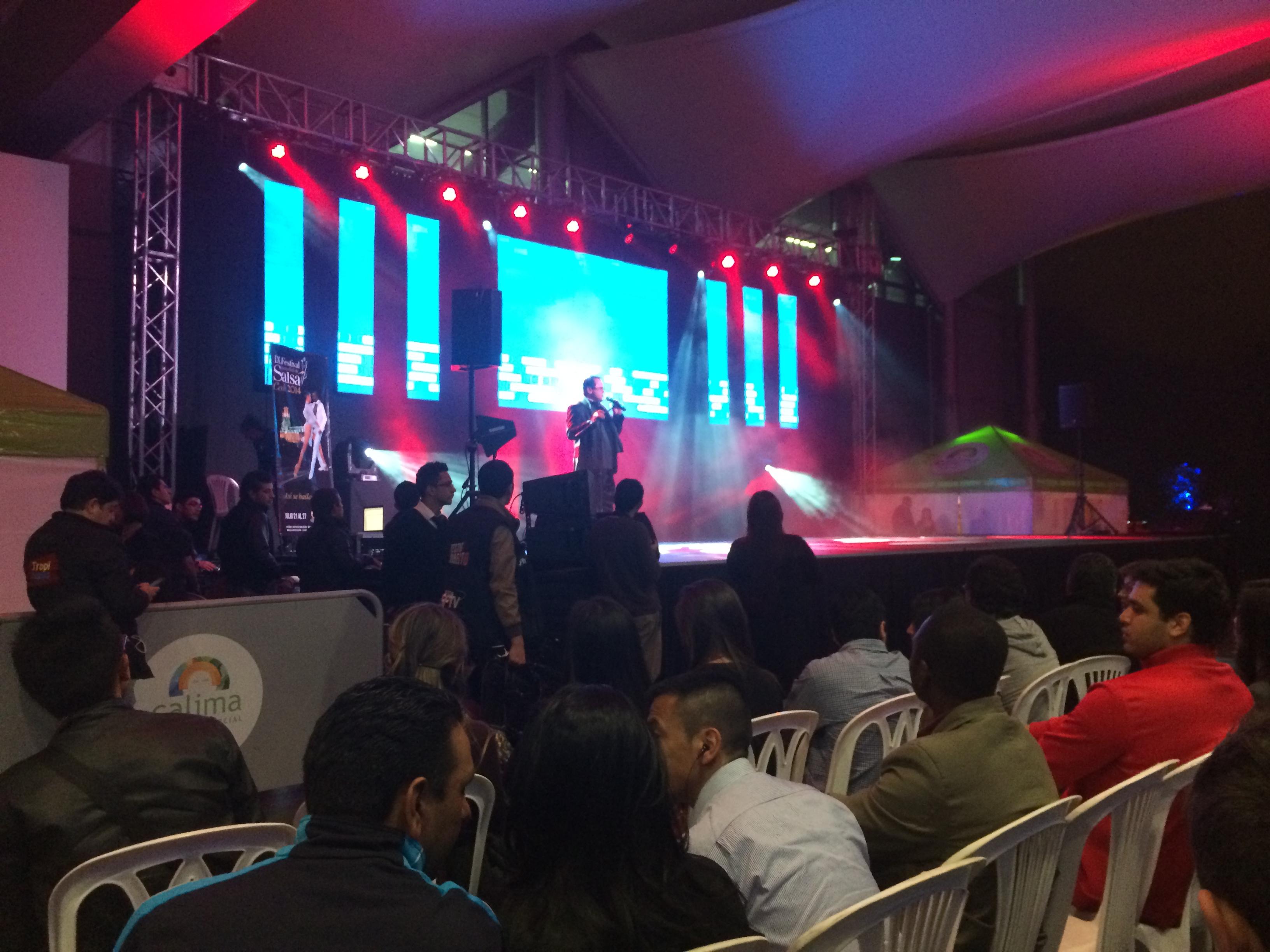 Así fue la inauguración del IX Festival Mundial de Salsa en Bogotá