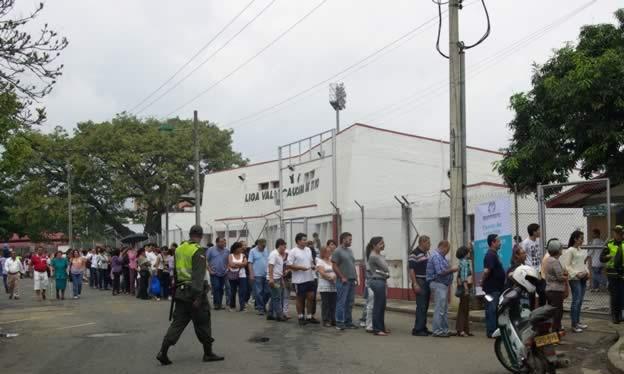El Valle del Cauca vota en contra de la abstención
