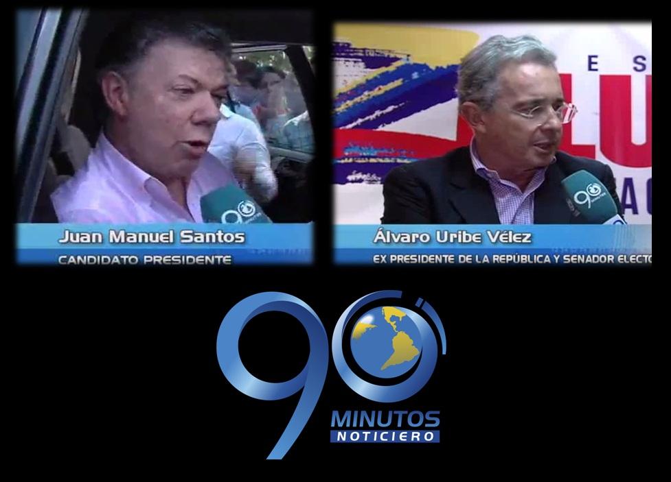 Santos y Uribe hablaron sobre campaña financiada con dinero del narcotráfico