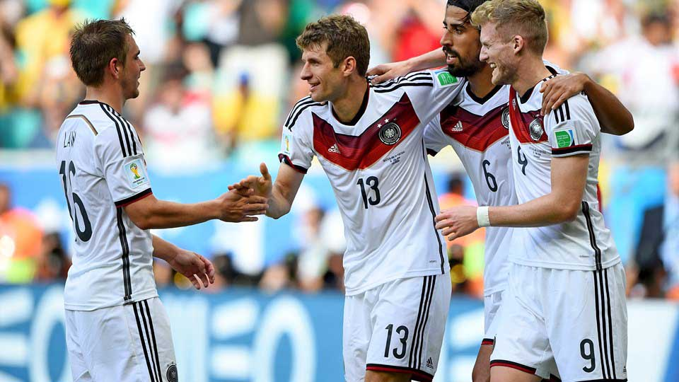 Alemania humilló a Portugal y lo goleó 4-0