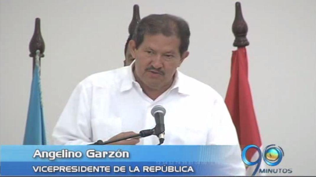 Angelino Garzón se refiere a los tres males que perjudican a Colombia