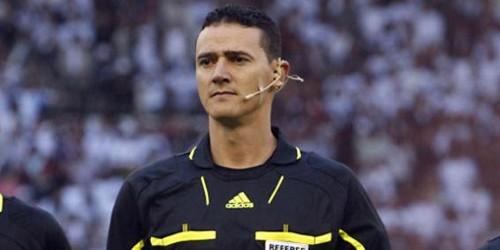 El árbitro, Wilmer Roldán debuta en el segundo día mundialista