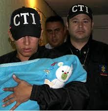 Sana y salva rescatan bebé secuestrada en Bogotá
