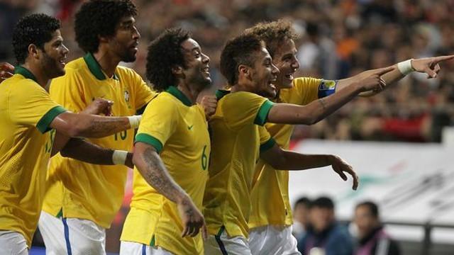 Brasil venció a Serbia en amistoso por la mínima diferencia