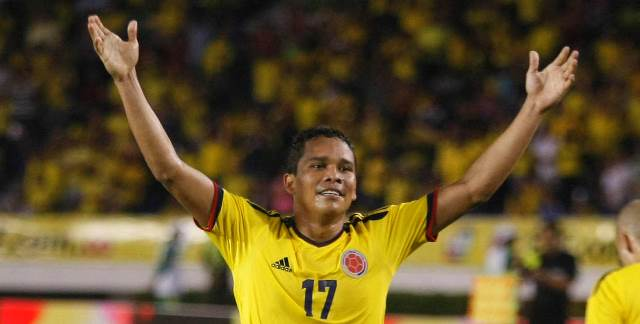 Carlos Bacca tendrá de siete a 10 días de incapacidad