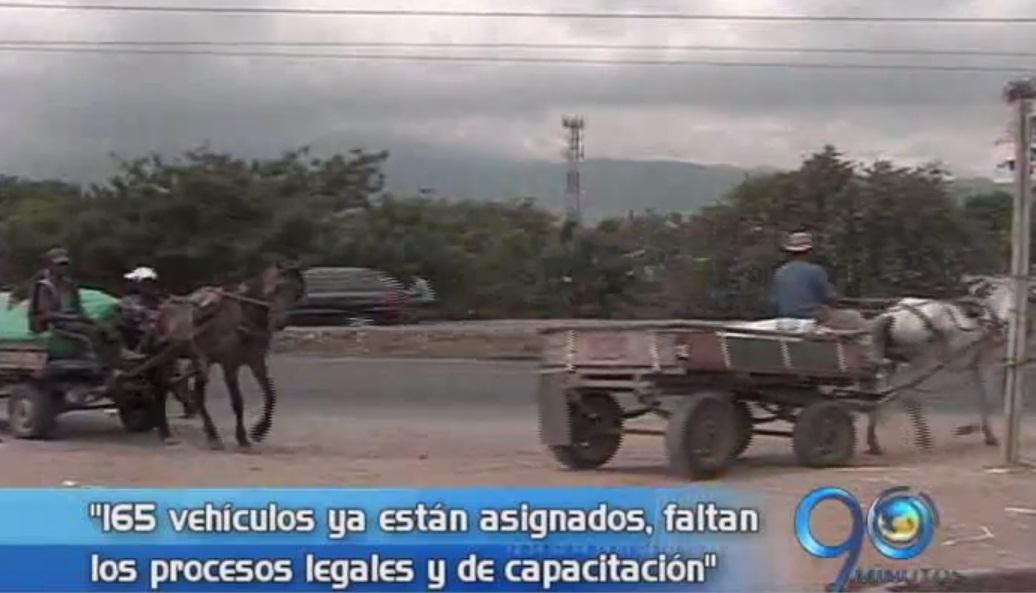 Antiguos carretilleros siguen sin recibir vehículos