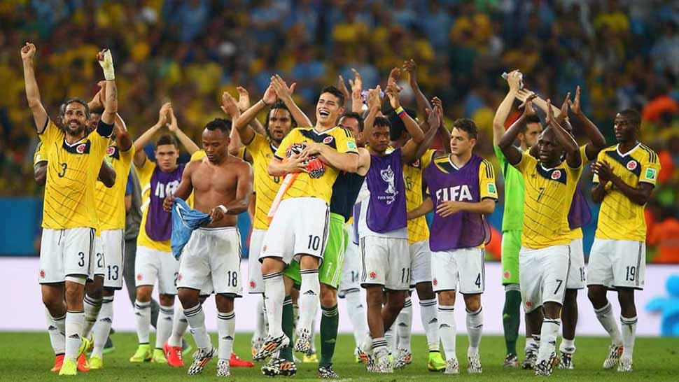 Colombia inicia preparación para partido contra Brasil