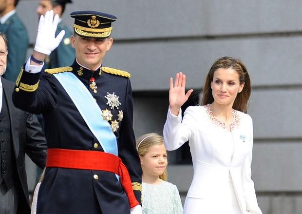 Felipe VI ya fue coronado como el nuevo rey de España