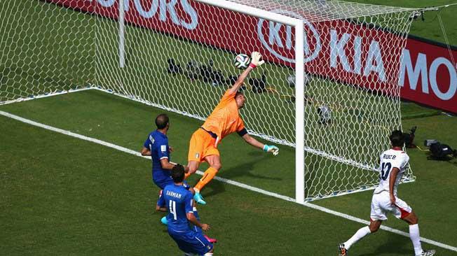Costa Rica, el Coco de los históricos del fútbol mundial