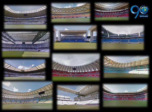 Así se ven los estadios del Mundial con la actualización de Google Street View